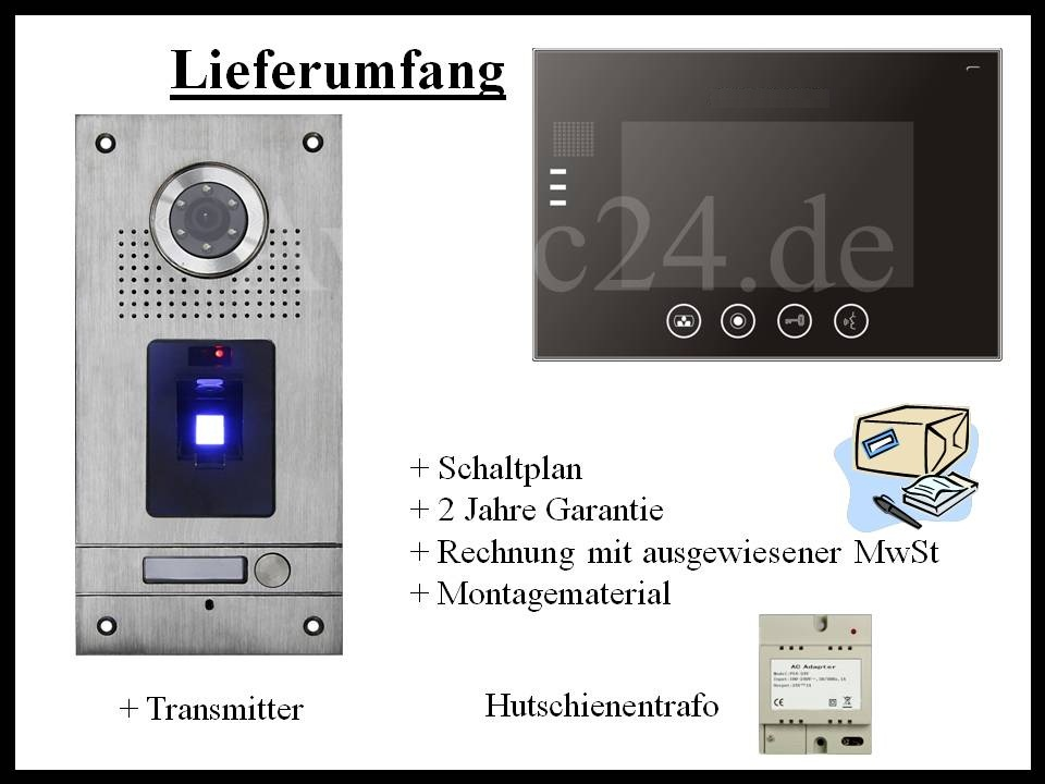 Sprechanlage-Fingerprint