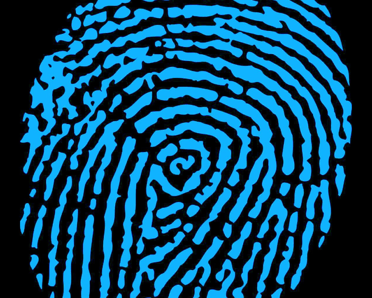 Fingerabdruck-Fingerprint-DNA