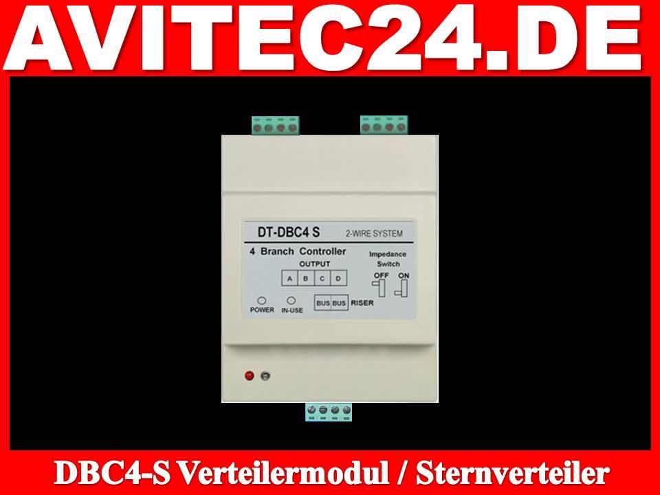 DBC4S-Sternverteiler-Verteilungsmodul-Stichverteilung-Videosprechanlage