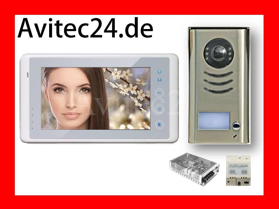 1 familienhaus video t rsprechanlage klingelanlage sprechanlage dt591 dt27w. Black Bedroom Furniture Sets. Home Design Ideas