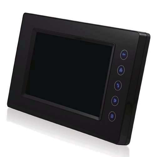 Hochwertige, robuste 2-Draht Innenstation DT6914 mit Touchscreen + Bildspeicher